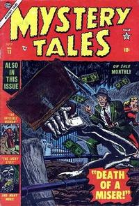 Cover Thumbnail for Mystery Tales (Marvel, 1952 series) #13