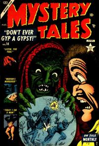 Cover Thumbnail for Mystery Tales (Marvel, 1952 series) #14