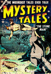 Cover Thumbnail for Mystery Tales (Marvel, 1952 series) #20