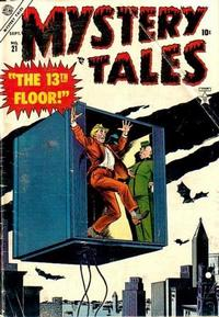 Cover Thumbnail for Mystery Tales (Marvel, 1952 series) #21