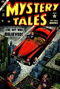 Cover Thumbnail for Mystery Tales (Marvel, 1952 series) #22