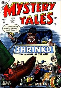 Cover Thumbnail for Mystery Tales (Marvel, 1952 series) #23