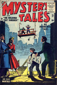 Cover Thumbnail for Mystery Tales (Marvel, 1952 series) #27