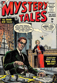 Cover Thumbnail for Mystery Tales (Marvel, 1952 series) #29