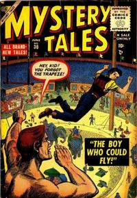 Cover Thumbnail for Mystery Tales (Marvel, 1952 series) #30