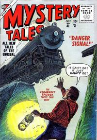 Cover Thumbnail for Mystery Tales (Marvel, 1952 series) #31