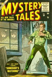 Cover Thumbnail for Mystery Tales (Marvel, 1952 series) #34