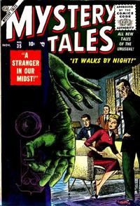 Cover Thumbnail for Mystery Tales (Marvel, 1952 series) #35