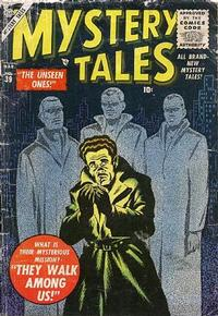 Cover Thumbnail for Mystery Tales (Marvel, 1952 series) #39