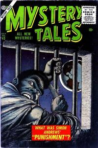 Cover Thumbnail for Mystery Tales (Marvel, 1952 series) #43
