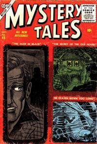 Cover Thumbnail for Mystery Tales (Marvel, 1952 series) #45