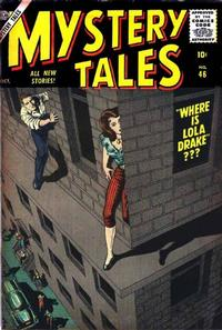 Cover Thumbnail for Mystery Tales (Marvel, 1952 series) #46