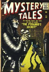 Cover Thumbnail for Mystery Tales (Marvel, 1952 series) #50