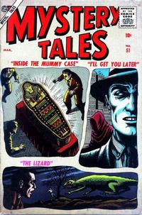 Cover Thumbnail for Mystery Tales (Marvel, 1952 series) #51