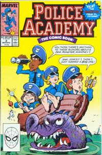 Cover Thumbnail for Police Academy (Marvel, 1989 series) #2 [Direct]