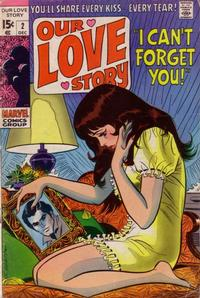 Cover Thumbnail for Our Love Story (Marvel, 1969 series) #2