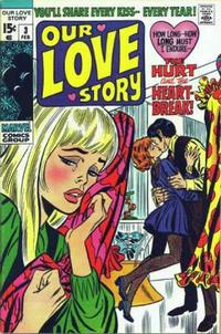 Cover Thumbnail for Our Love Story (Marvel, 1969 series) #3