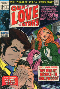 Cover Thumbnail for Our Love Story (Marvel, 1969 series) #5