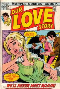 Cover Thumbnail for Our Love Story (Marvel, 1969 series) #14
