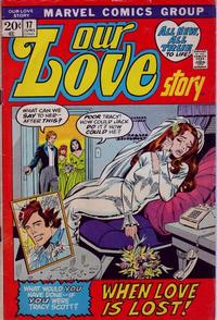 Cover Thumbnail for Our Love Story (Marvel, 1969 series) #17