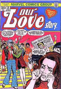 Cover Thumbnail for Our Love Story (Marvel, 1969 series) #21