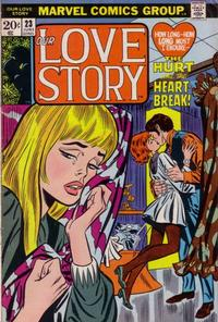 Cover Thumbnail for Our Love Story (Marvel, 1969 series) #23