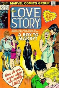 Cover Thumbnail for Our Love Story (Marvel, 1969 series) #24