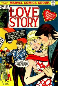 Cover Thumbnail for Our Love Story (Marvel, 1969 series) #25