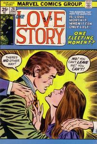 Cover Thumbnail for Our Love Story (Marvel, 1969 series) #28