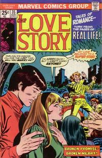 Cover Thumbnail for Our Love Story (Marvel, 1969 series) #35