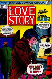 Cover Thumbnail for Our Love Story (Marvel, 1969 series) #36