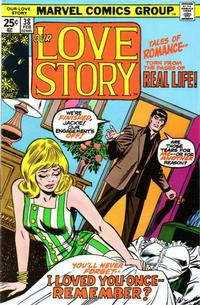 Cover Thumbnail for Our Love Story (Marvel, 1969 series) #38