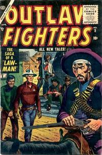 Cover Thumbnail for Outlaw Fighters (Marvel, 1954 series) #5