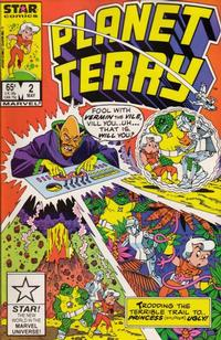 Cover Thumbnail for Planet Terry (Marvel, 1985 series) #2 [Direct Edition]