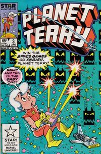 Cover Thumbnail for Planet Terry (Marvel, 1985 series) #3 [Direct]