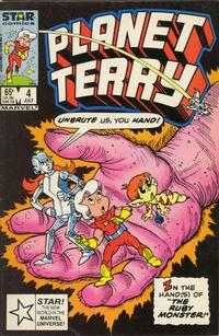 Cover Thumbnail for Planet Terry (Marvel, 1985 series) #4 [Direct Edition]