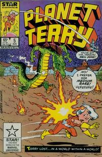 Cover Thumbnail for Planet Terry (Marvel, 1985 series) #5 [Direct]