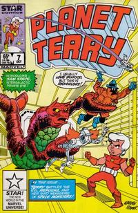 Cover Thumbnail for Planet Terry (Marvel, 1985 series) #7 [Direct]