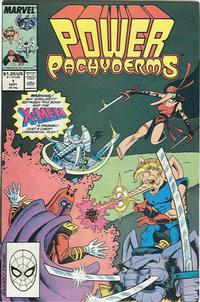 Cover Thumbnail for Power Pachyderms (Marvel, 1989 series) #1