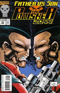 Cover Thumbnail for Punisher 2099 (Marvel, 1993 series) #22