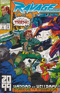 Cover Thumbnail for Ravage 2099 (Marvel, 1992 series) #3 [Direct]