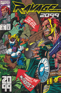 Cover Thumbnail for Ravage 2099 (Marvel, 1992 series) #4 [Direct]