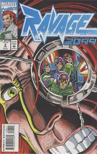 Cover Thumbnail for Ravage 2099 (Marvel, 1992 series) #8 [Direct Edition]