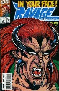 Cover Thumbnail for Ravage 2099 (Marvel, 1992 series) #10 [Direct Edition]