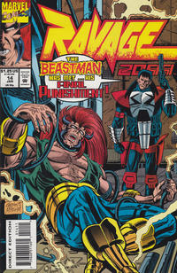 Cover Thumbnail for Ravage 2099 (Marvel, 1992 series) #14 [Direct Edition]