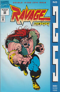 Cover Thumbnail for Ravage 2099 (Marvel, 1992 series) #25 [Newsstand Edition]
