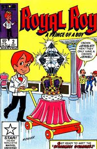 Cover Thumbnail for Royal Roy (Marvel, 1985 series) #2