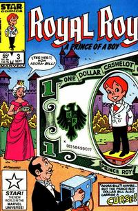 Cover Thumbnail for Royal Roy (Marvel, 1985 series) #3 [Direct Edition]