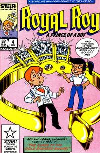 Cover Thumbnail for Royal Roy (Marvel, 1985 series) #4 [Direct]