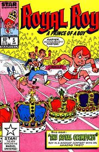 Cover Thumbnail for Royal Roy (Marvel, 1985 series) #5